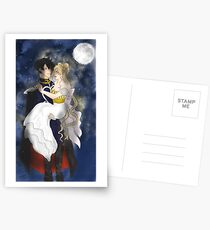 Sailor Moon Serenity and Endymion Postcards