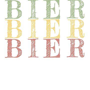 Retro Bier Oktoberfest design by jhussar