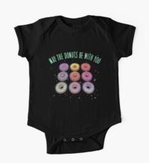 May the Donuts be With You One Piece - Short Sleeve