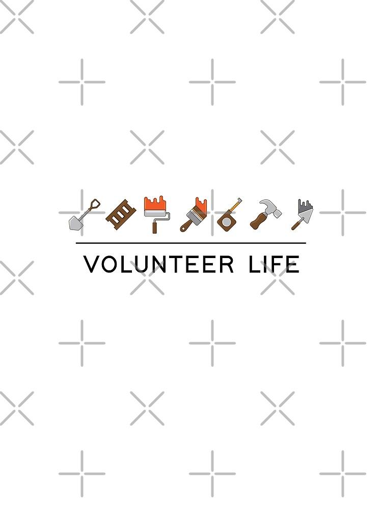JW Volunteer Life | Contrast Tank