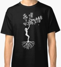 Yoga Pose as a Tree Classic T-Shirt