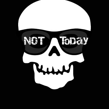 Pirate Not Today Skull by stacyanne324