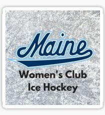 Umaine women's club ice hockey Sticker