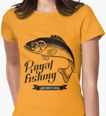lake winnebago Royal fishing Women's Fitted T-Shirt