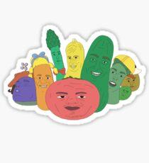 "The My-Yutes ""Veggie Tales"" (Season 1) Sticker"