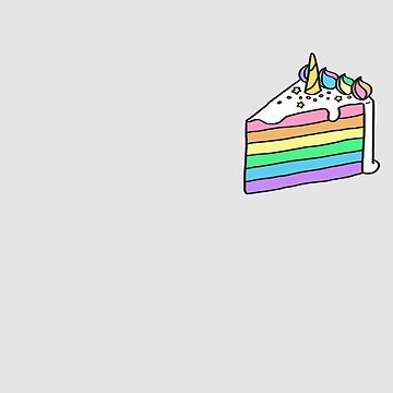 Rainbow Cake by WordvineMedia