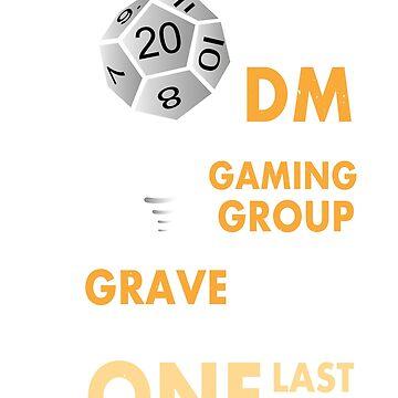 DnD As a DM... by WorldOfTeesUSA