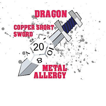 DnD You stab the dragon by WorldOfTeesUSA