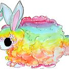 Rainbow Bunneh! by FTMLand