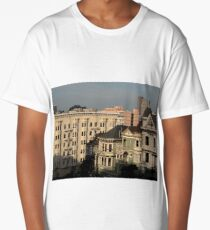 Painted Ladies In The Afternoon Long T-Shirt