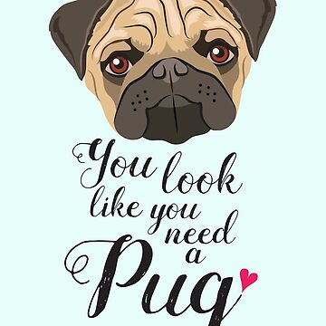 You look like you need a Pug by giddyaunt