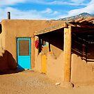 Taos Pueblo Study 7  by Robert Meyers-Lussier