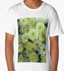 Yellow Floral  Long T-Shirt