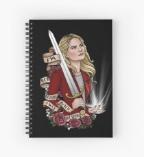 Emma Swan's Birthday Campaign Spiral Notebook