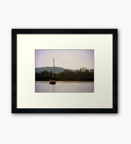 Sailors Delight Framed Print