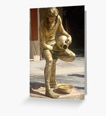 All that Glitters ......is not gold Greeting Card