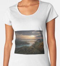 Cloudy sun Women's Premium T-Shirt