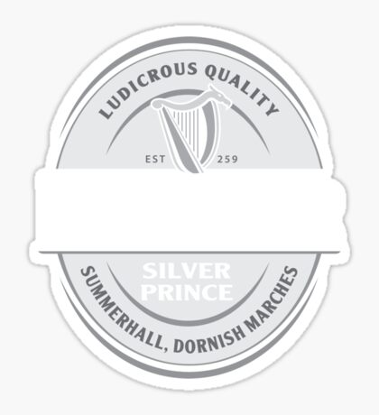 Rhaegar Guinness Sticker