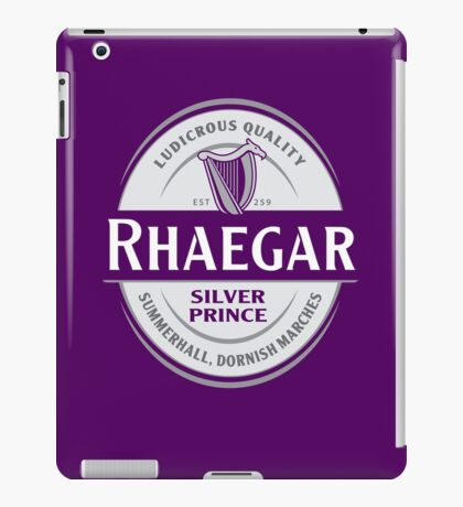 Rhaegar Guinness iPad Case/Skin