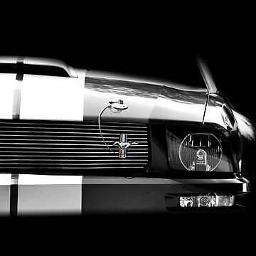 High contrast Shelby Mustang by mal-photography