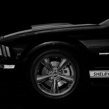 Ford Shelby GT Mustang - black by mal-photography