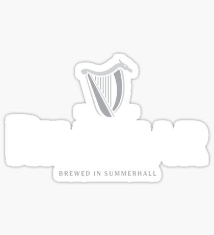 Rhaegar Guinness Logo Sticker