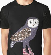 I skate OWL night long Graphic T-Shirt