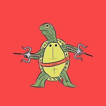 Hatchling Ordinary Ninja Turtles - Raf by TheMVB