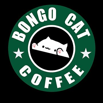 Bongo Cat Coffee by adjua