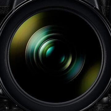 Nikon DSLR Camer Nikkor Lens by Under-TheTable