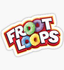 Froot Loops Sticker