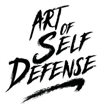 Art Of Self Defense (v2) by BlueRockDesigns