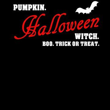 Halloween pumpkin witch boo by Daniel0603