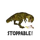 Tyrannosaurus Rex is Stoppable by SirLeeTees