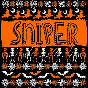 Cool Sniper Ugly Halloween Gift t-shirt by BBPDesigns