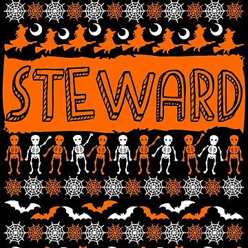 Cool Steward Ugly Halloween Gift t-shirt by BBPDesigns