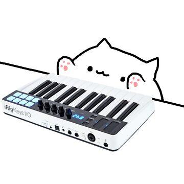 piano cat by scumbigula