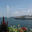 Lakeside in Geneva by Susan Misicka