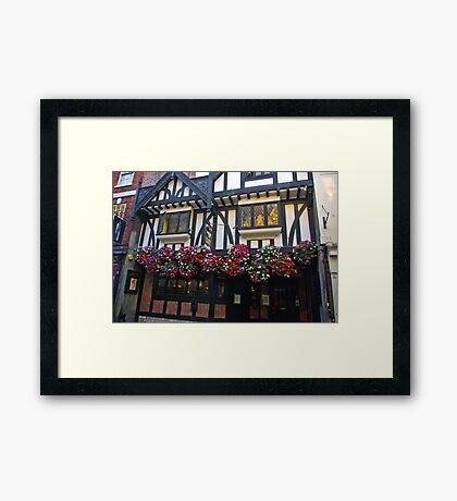 Punch Bowl Pub Framed Print
