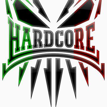 Hardcore TShirt - IT DarkEdge by Coreper