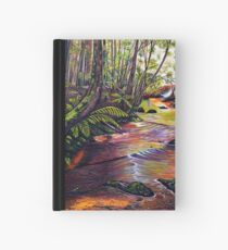 Blue Mountains Stream Hardcover Journal