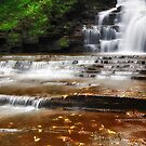 Ithaca's Buttermilk falls II by PJS15204