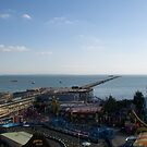 southend pier and peter pans by smileykaye