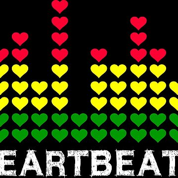 Heartbeats Equalizer (white) by loneleon