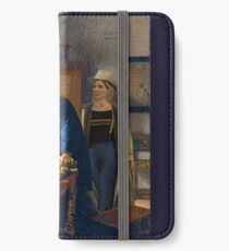 The Doctor and Vermeer's Geographer iPhone Wallet/Case/Skin