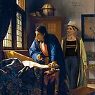 The Doctor and Vermeer's Geographer by Marty Jones