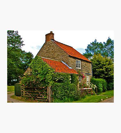 Country Cottage - Nunnington Photographic Print