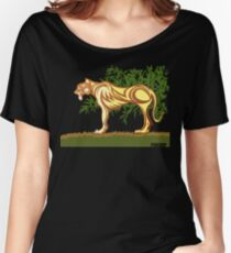 MONO Lion Women's Relaxed Fit T-Shirt