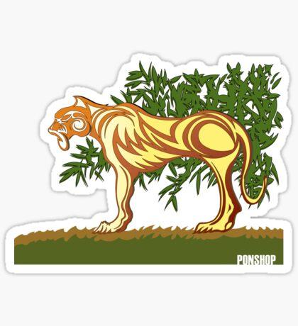 MONO Lion Sticker