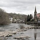 River Dee at Llangollen by Yampimon